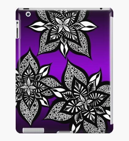 Floral Fantasy in Purple  iPad Case/Skin