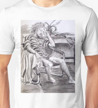 Seated Man - Figure Study Unisex T-Shirt