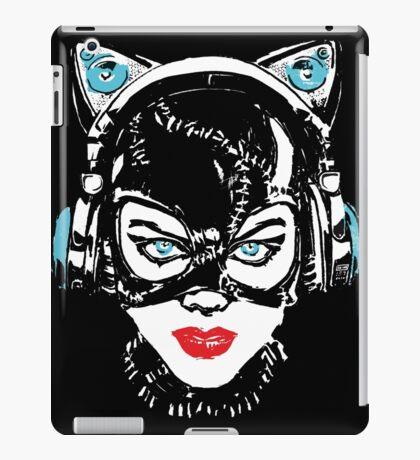 NekoWoman - (KuroNeko ver.) iPad Case/Skin