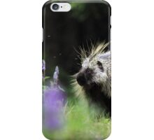 Porcupine in Lupin iPhone Case/Skin