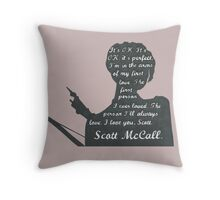 Allison Quote- Number Two (Part Two) In a Series Throw Pillow