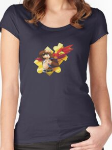 Banjo and Kazooie Women's Fitted Scoop T-Shirt