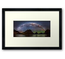 Milford Sound at NIght Framed Print