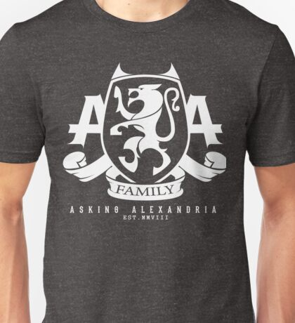 Asking Alexandria Family logo tshirt and hoodie Unisex T-Shirt
