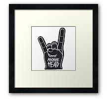 machine head heavy metal Framed Print