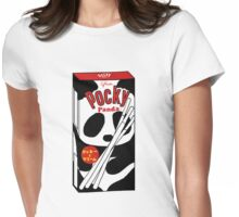 Pocky Panda Womens Fitted T-Shirt