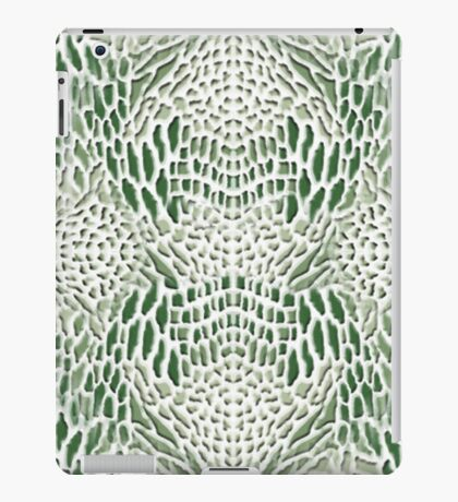 green snake iPad Case/Skin