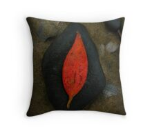 The Stone With Heart Throw Pillow