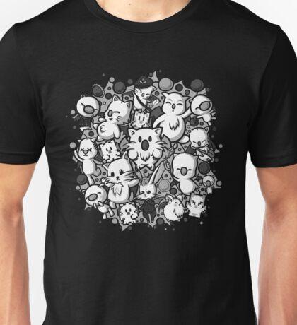 Final Fantasy Moogles - Pom Pom Party (white) Unisex T-Shirt