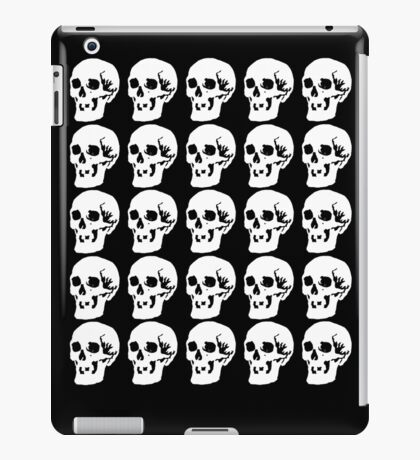 White Skulls iPad Case/Skin