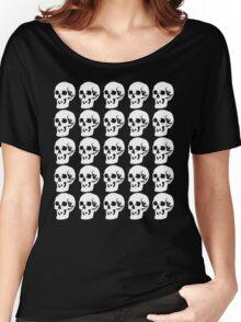 White Skulls Women's Relaxed Fit T-Shirt