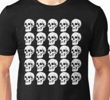 White Skulls Unisex T-Shirt