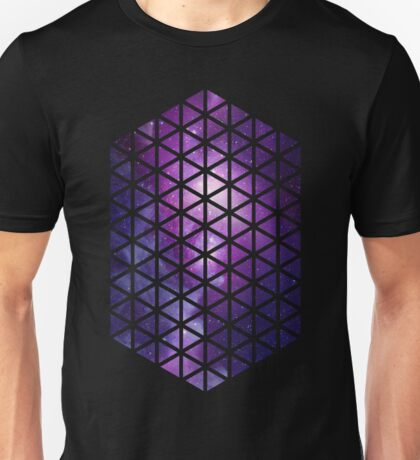Hexagons /Triangles (Galaxy) Unisex T-Shirt