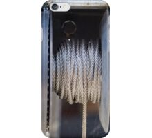 steel cable iPhone Case/Skin