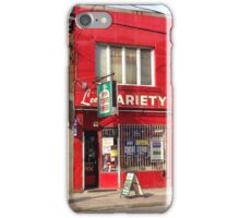 Parkdale Toronto Lee's Variety Convenient neighbourhood neighborhood heritage building store 'The Red Store' iPhone Case/Skin