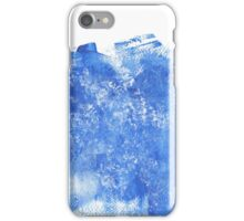 Blue paint iPhone Case/Skin
