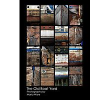 The Old Boat Yard 1 'The Collection' by Maria Ware Photographic Print