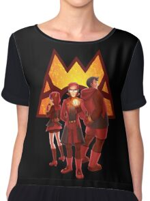 Team Magma Chiffon Top