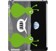 Earth rising impressing Frank and Ingrid iPad Case/Skin