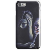 The Mask She Hides Behind iPhone Case/Skin