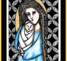 'A child is born' Christmas design by Jenny Wood