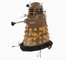painted dalek Kids Clothes