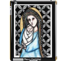 'A child is born' Christmas design iPad Case/Skin