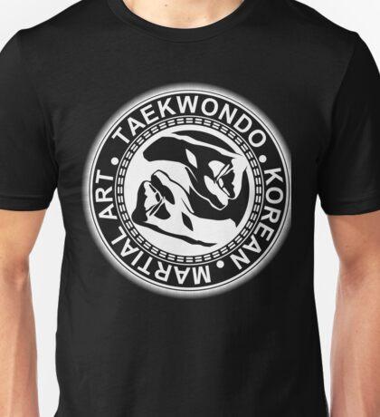Taekwondo Fist Yin Yang Korea Martial Art Unisex T-Shirt