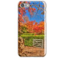 Autumn Colours at Mount Wilson iPhone Case/Skin