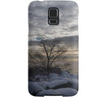 Lakeside Silver – Winter Morning Light Samsung Galaxy Case/Skin