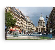 Rue Soufflot, Paris Canvas Print