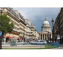 Rue Soufflot, Paris Photographic Print
