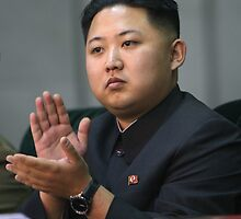 Kim Jung Un Leader of the best Korea. by TheGreenPenguin