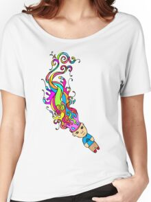 Abstract In My Mind Women's Relaxed Fit T-Shirt