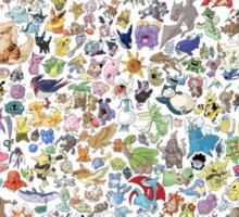 pokemons Sticker