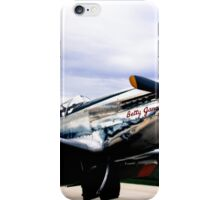 Flying with Betty Jane  iPhone Case/Skin
