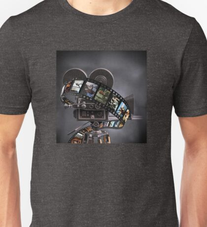 Critically Acclaimed Film Strip Unisex T-Shirt
