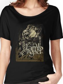 Lamb of God metal Women's Relaxed Fit T-Shirt