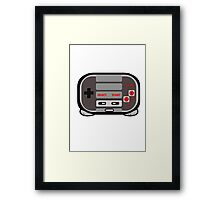 Nintendo Control Character Framed Print