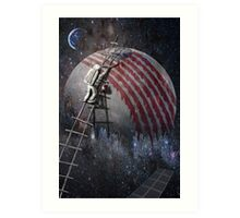sky creator Art Print