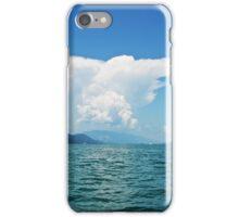 Cumulonimbus (Lac du Bourget) iPhone Case/Skin