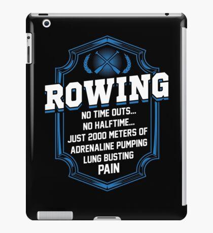 2000 Meters Rowing iPad Case/Skin
