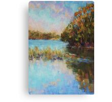Lake Cathie late afternoon Canvas Print