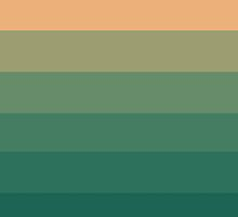 Peach Green Tea Ombre by CanisPicta