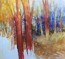 Alla fine dell'estate il bosco diventa più bello by Alessandro Andreuccetti