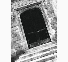 Black And White Doorway Unisex T-Shirt