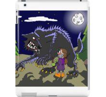 Fetch werewolf, fetch! iPad Case/Skin