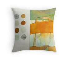 paperbag abstract Throw Pillow