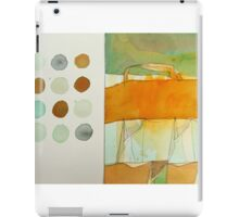 paperbag abstract iPad Case/Skin