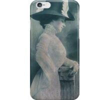A Lady Ponders iPhone Case/Skin